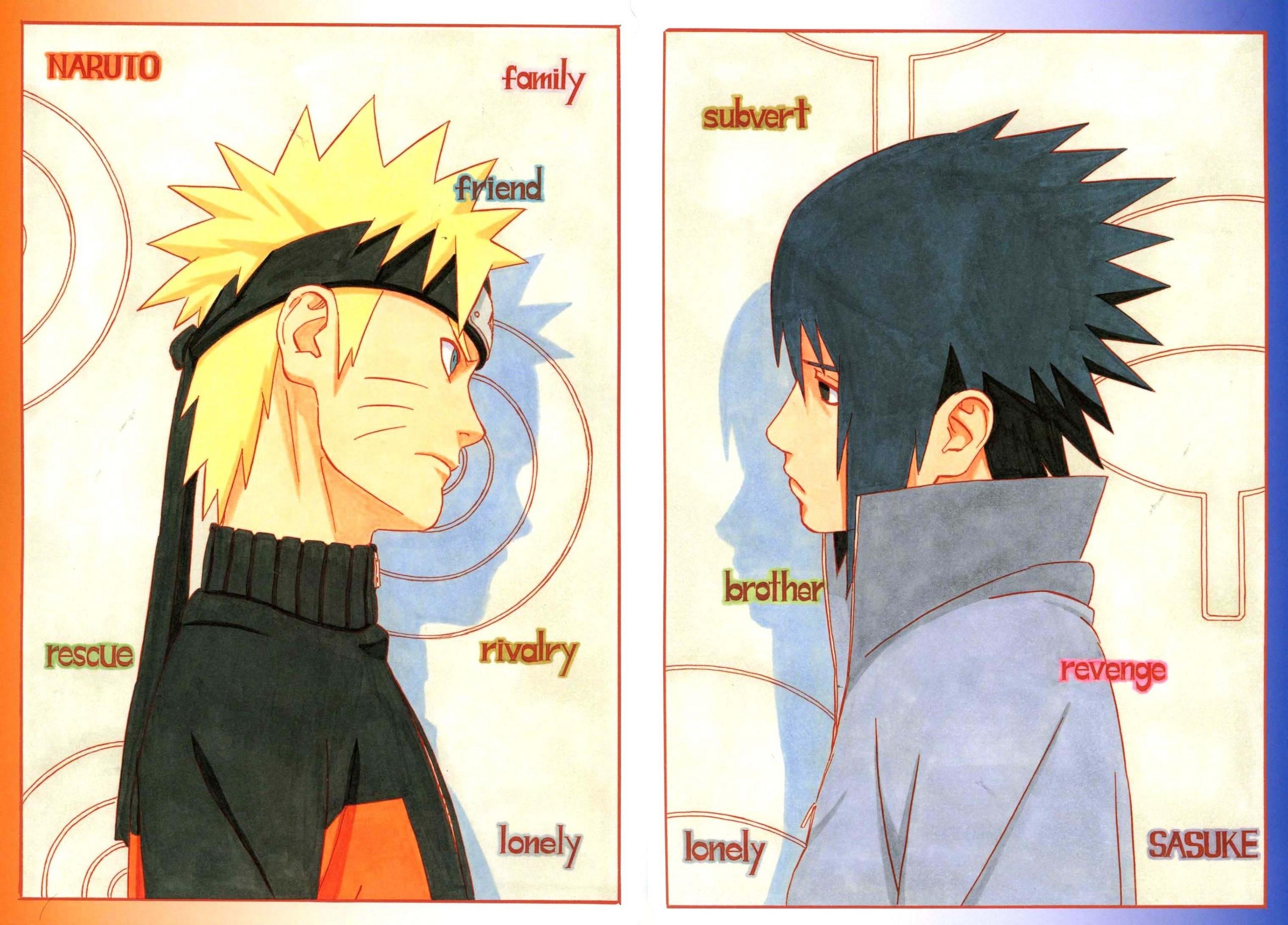 NARUTO -ナルト- and Sasuke