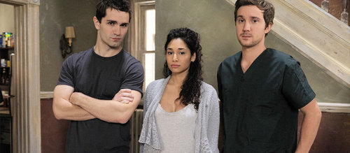 New BEING HUMAN cast foto