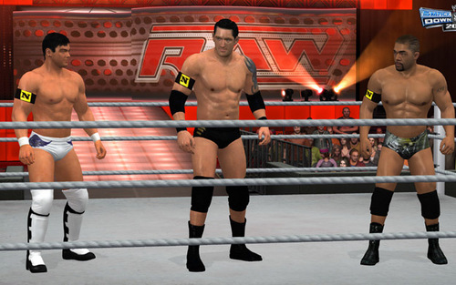 Nexus-Smackdown vs Raw 2011