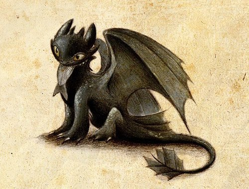 Night fury/Toothless