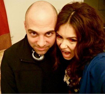 Nina with Marcos Siega