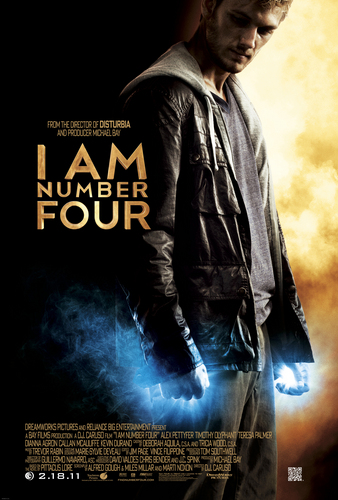 """Official """"I Am Number Four"""" Movie Poster HQ"""