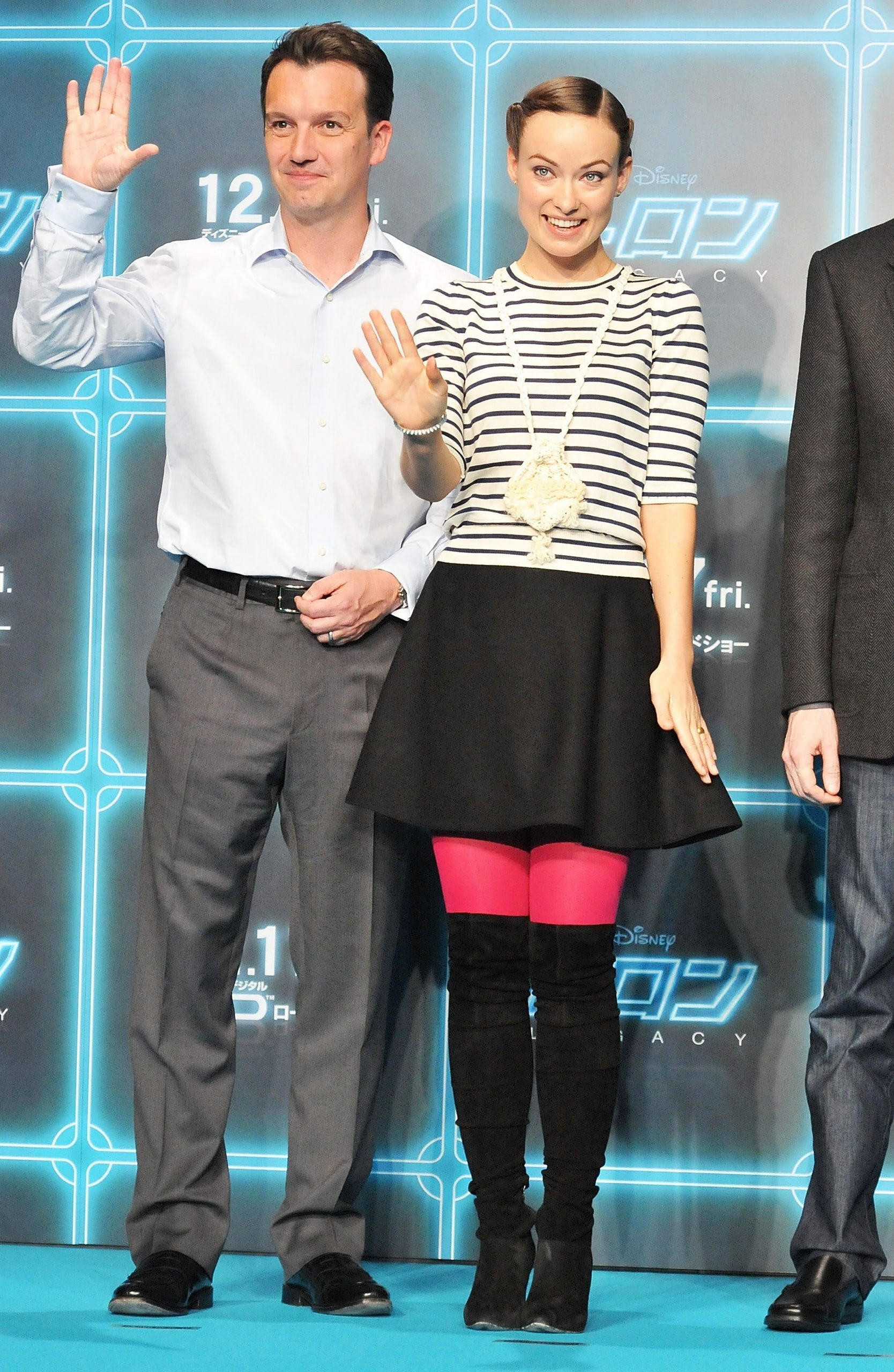 Olivia Wilde @ the 'Tron: Legacy' Press Conference in Tokyo, Japan (HQ)