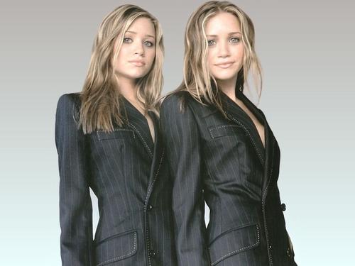 Olsen Twin Wallpaper