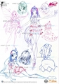 Original Winx Sketches
