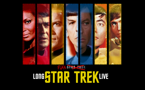 Star Trek: The Original Series wallpaper with a stained glass window and a holding cell called Original and Best!