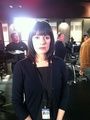 Paget on CM set - paget-brewster photo