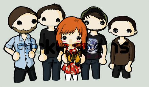 Paramore Cute Drawings :)