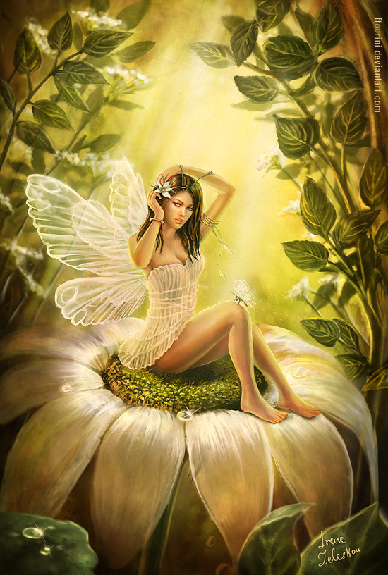 Pin-up fairy