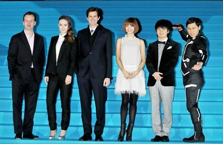 Premire of 'Tron:Legacy' in Tokio [November 30, 2010]