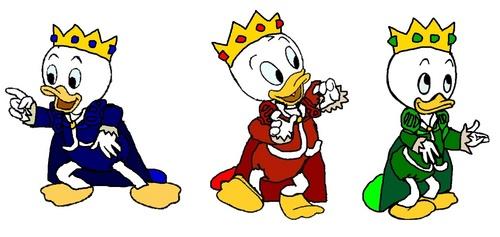 Prince Huey, Prince Dewey, Prince Louie