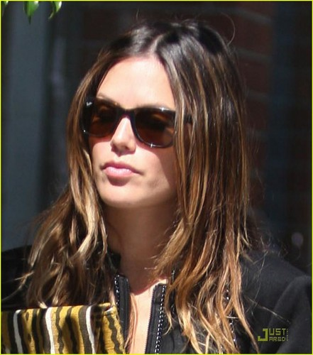 Rachel out in Beverly Hills