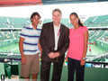 Rafa and Ana Ivanovic