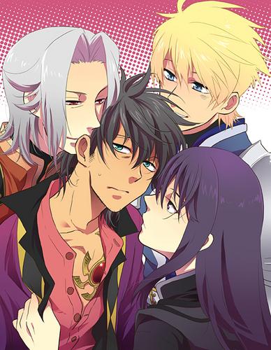 Raven, Alexei, Flynn, Yuri