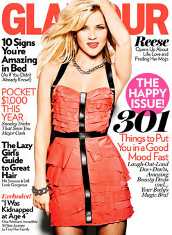 Reese Witherspoon [January 2011 Glamour magazine]