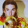 Sergio Ramos photo possibly with a trombone called SR