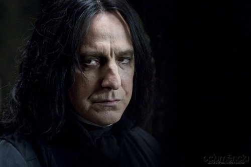 Severus Snape wallpaper probably containing a portrait called SS DH