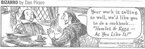 Shakespeare Comic Strip