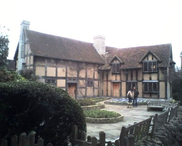 what is the birthplace of william shakespeare