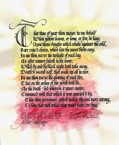 Shakespearean Sonnet