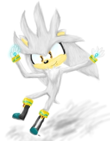 Silver Posing