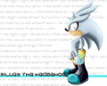 Silver the hedgehog kertas dinding