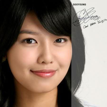 Choi Sooyoung wallpaper containing a portrait entitled Smily Sooyoung