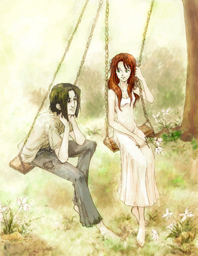 Severus Snape & Lily Evans wallpaper called Snape and Lily