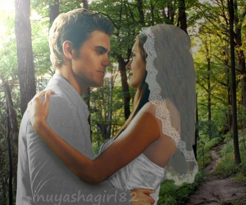 Stelena wedding 4 Stelena101 - stefan-salvatore Fan Art