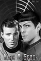 TOS Kirk/XI Spock - spirk fan art