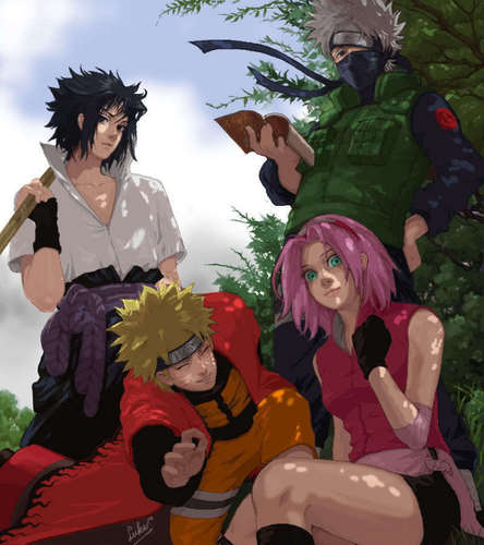 Haruno Sakura wallpaper titled Team_7