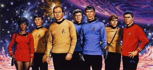 Star Trek: The Original Series wallpaper titled The Magnificent Seven