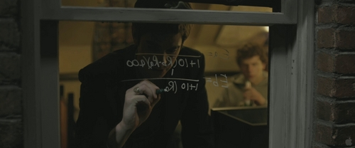 Andrew Garfield karatasi la kupamba ukuta probably containing a telephone booth and a sign called The Social Network