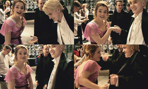 Tom Felton & Emma Watson wallpaper entitled Tom & Emma <3