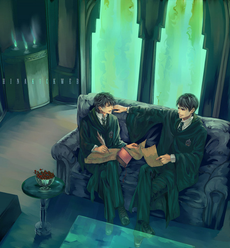 Tom and Albus