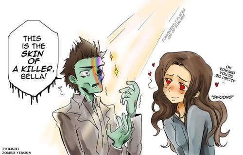 Twilight featuring Zombies