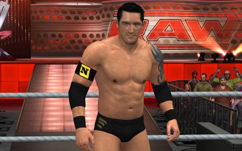 Wade Barrett-Smackdown vs Raw 2011