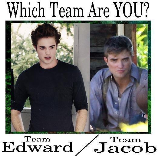 Which team are 당신 on? Team Edward 또는 Team Jacob? haha Edward!!