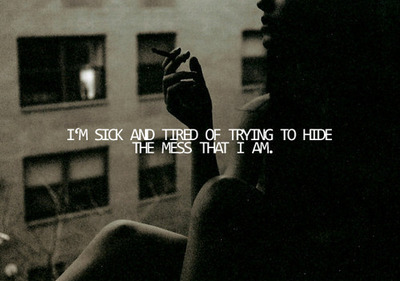 Who I am... - depression Photo