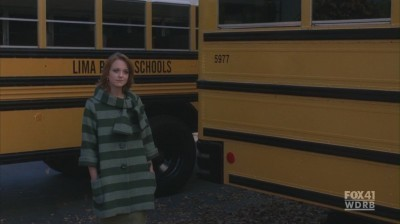 "Will and Emma wallpaper containing a school bus titled Wilma 2x09 ""Special Education"""