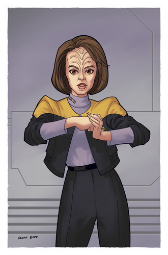 Women of stella, star Trek