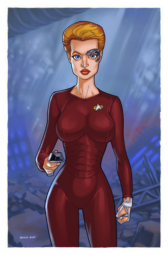 Women of étoile, star Trek
