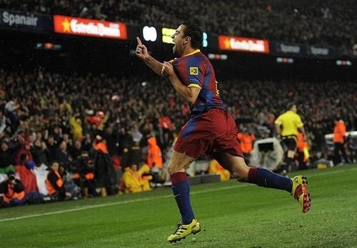 Xavi (Barcelona - Real Madrid)
