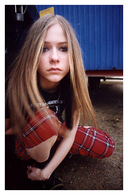 Young Avril foto