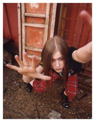 Young Avril fotografias