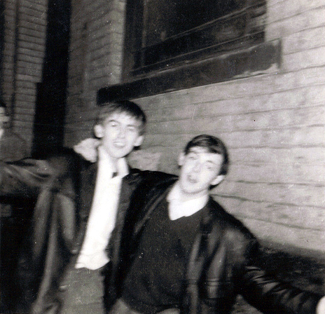 Young George and Paul