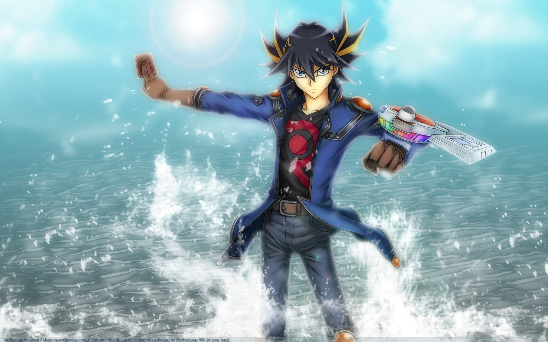 YuGiOh 5Ds images Yusei HD wallpaper and background photos
