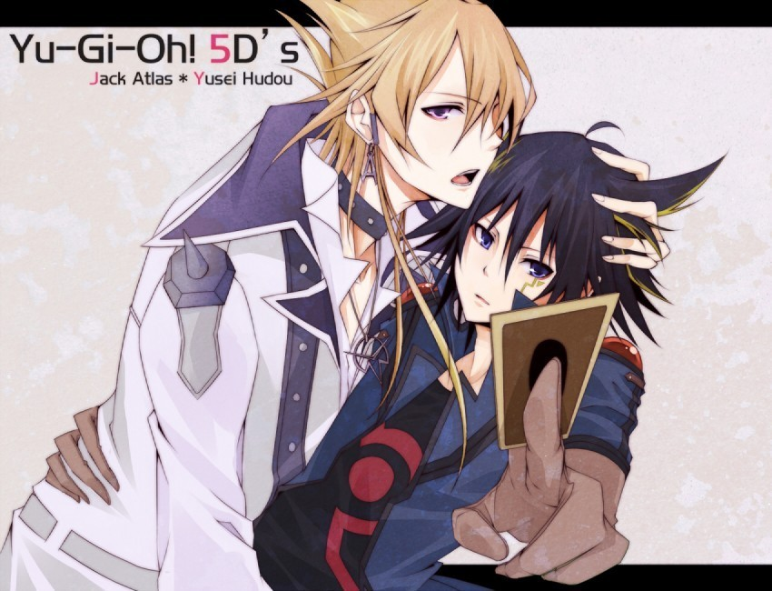 Yaoi Yusei and JackYugioh 5ds Yusei And Jack