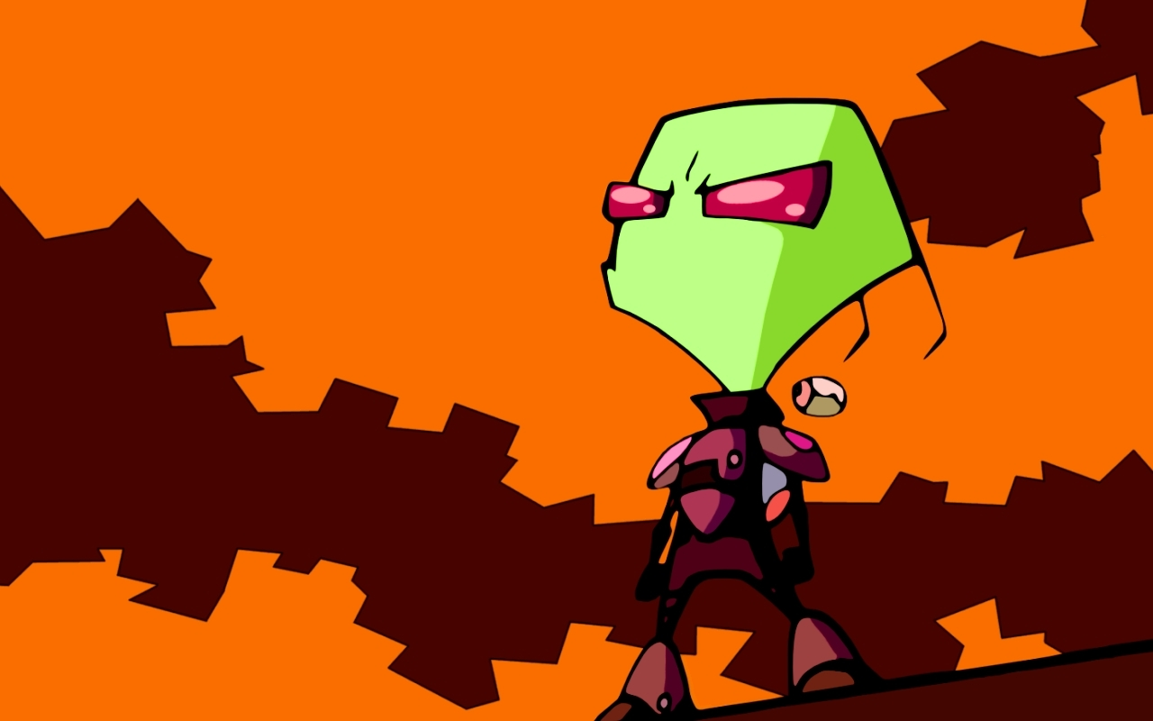 Invader Zim images Zim HD wallpaper and background photos ...