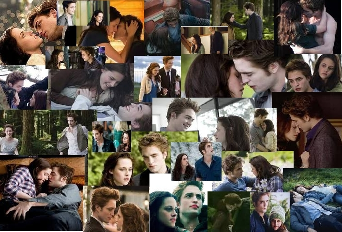 bella and edward collage